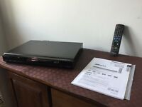Panasonic DMR-EX77 160GB HDD DVD Recorder with Freeview in Black