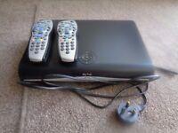 Sky+ HD Box and 2 Remote Controls