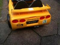 Child's electric corvette car
