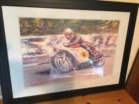 Mike Hailwood 500cc Honda.