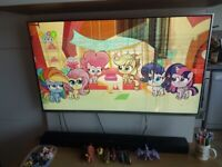 "Lg 49"" LCD 3D TV Cracked Screen"