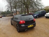 2005 (05) GOLF MK5 1.6 3DOOR BLACK MODIFIED GTI REPLICA NOT SHOW CAR CHEAP RUN AROUND BARGAIN