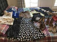 Huge job lot of clothing and shoes