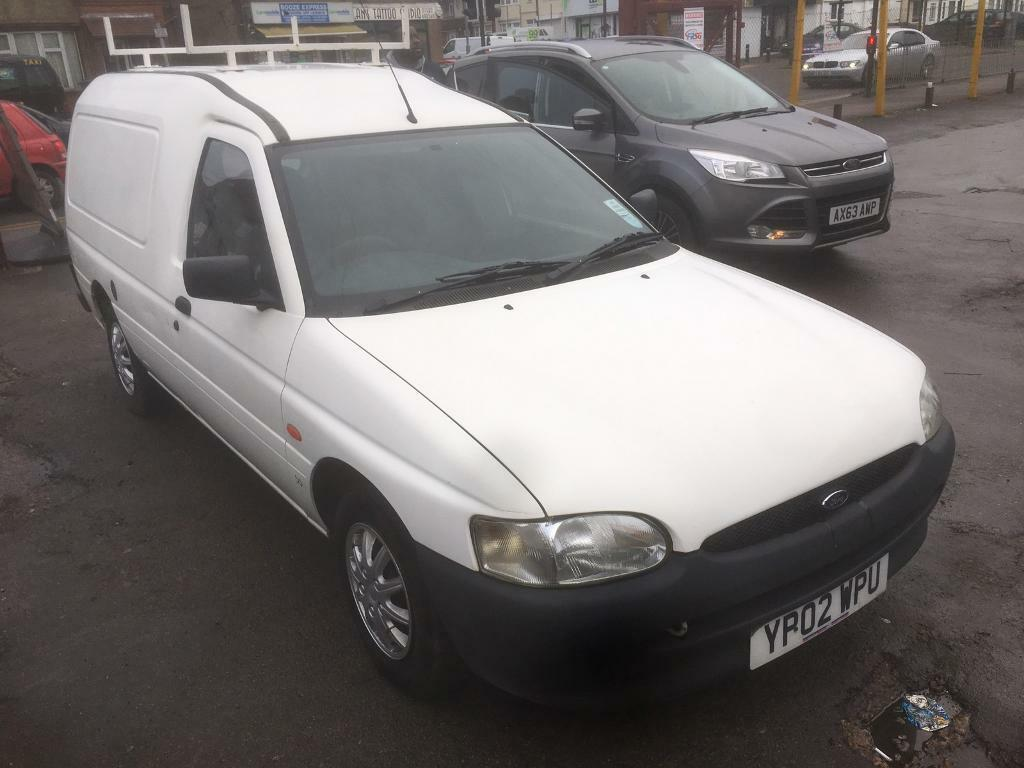 2002 ford escort 55td van 1 years mot mint condition