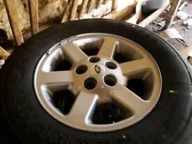 Discovery 2 TD5 Range Rover P38 Alloy wheels 5 x 120 Pirelli Scorpion Tyres
