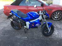 Gilera DNA 50cc Scooter, 12 Months MOT Rare Blue colour