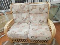 Conservatory furniture set sofa, chairs and table