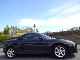 UNIQUE OPPORTUNITY! (2006) MG TF 1.6 115 Soft+Hard Top 1 OWNER, GENUINE 17,000 Miles, FSH, 11 Stamps