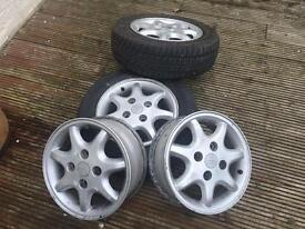 Tyres n alloys