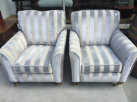 Armchair - good quality and condition . - 2 available matching .