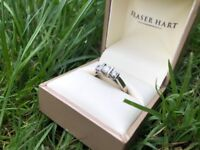 3 Tier Diamond Engagement Ring 18CT Gold