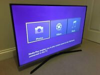 Slim line - 40in Samsung LED - TV-200hz- 1080p- with Freeview HD - WARRANTY