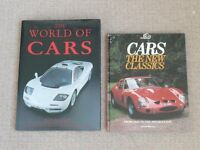 The world of cars by Roy Bacon and Cars - the new classics by Chris Harvey