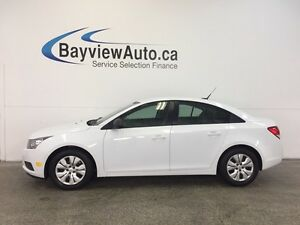2014 Chevrolet CRUZE - ECOTEC! 6 SPD! 1.8L! ON STAR! GAS BUDDY!