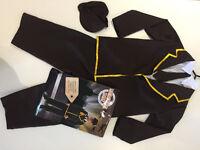 FANCY DRESS Kids 5-7yo WW2 Evacuee Costume