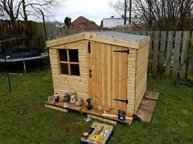Special offer Child's play house/ Wendy house 6x4 ft