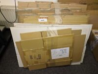 Bundles of Strong Cardboard Cartons in various sizes