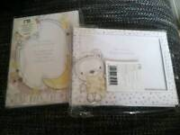 Mothercare new baby announcing photo frame cards