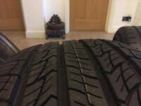 """225/50/19 tyres x4 nearly new 19"""" Audi bmw Mercedes g wagon Q7 X5 Mazda Jeep 4x4"""