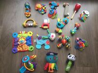 Huge bundle of baby rattles and teethers (Lamaze, Fisher Price, Nuby etc)