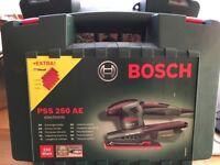 Bosch PSS 250 AE Sander; Brand New In Box