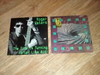 """9 x pink floyd roger waters david gilmour - 12"""" / 7"""" singles learning to fly"""
