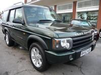 LAND ROVER DISCOVERY 2.5 TD5 ES 5STR 5d 137 BHP (green) 2002