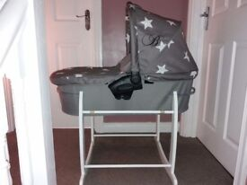 Baby Carry Cot & Stand