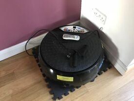 Vibrapower Disc Exercise Vibrating Disc Plate
