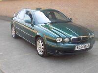 2004 JAGUAR X-TYPE 2.0 DIESEL in British Racing Green