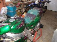 one off show bike 89 zxr750h1