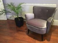 Brand New Made Lotus Designer Accent Chair