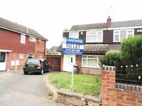 3 bedroom semi-detached house available to rent on the popular area of Rushy Mead