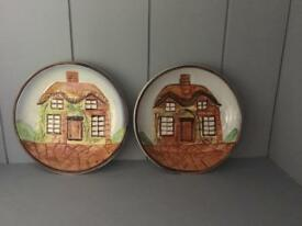 Price Kensington cottage ware dishes x2