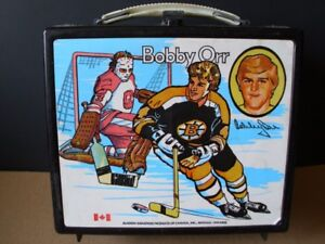 Bobby Orr Lunch box & Thermos 1972