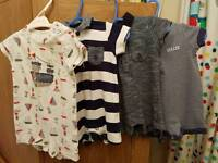 4 x next rompers 0-3 month