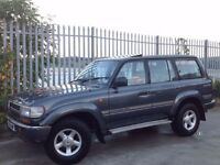TOYOTA LAND CRUISER 4.2 VX MANUAL 4X4 DIESEL GREY