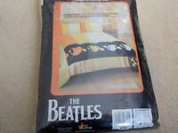 Brand new unused & still in plastic wrapping Beatles double duvet set