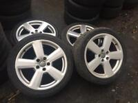 "18"" Genuine Audi RS6s Alloys 5x112"