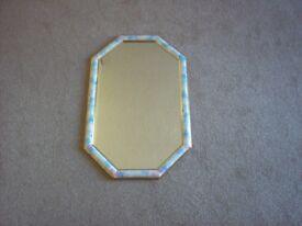 Mirror/Floral Frame,