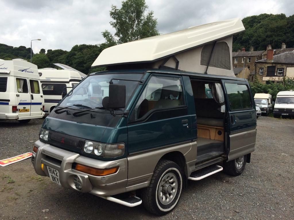 MITSUBISHI DELICA 2.5 TURBO DIESEL FULL WELLHOUSE CONVERSION 2 BERTH