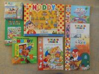 Noddy books, Jigsaw and Fuzzy Felt Game Toys