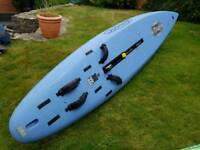 Fanatic Snake 335 Board with full rig and 3 sails