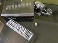 ZGEMMA STAR 2S SKY BOX WITH ALL CHANNELS