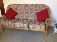 Quality lightweight 3 seater sofa. Sterling Furniture.