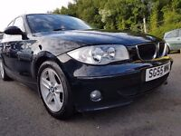 BMW 1 Series 2.0 118d Sport+MOT MAR 17+ NEW CLUTCH AND FLYWHEEL+3 MONTH WARRANTY WITH THIS CAR