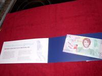 George Best £5 note .