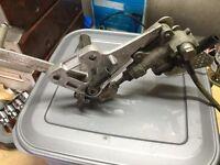 suzuki sv650 hanger rear master cylinder braided brake line