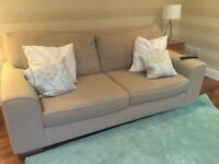 M&S Nantucket Sofa & Footstool