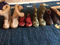 Size 6 toddler shoe bundle